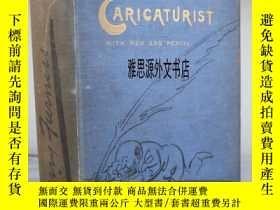 二手書博民逛書店【罕見】1901年出版 Harry Furniss著 《漫畫家的