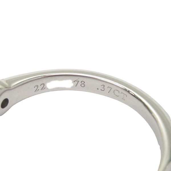 Tiffany & Co 蒂芬妮 Solitaire系列0.37克拉鑽石六爪鉑金戒指 PT950 47號