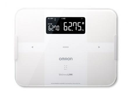 omron 歐姆龍 HBF-254C 白色/紅色 第一台具連線功能之體脂肪計 與 OMRON connect APP搭配使用 專品藥局