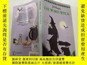 二手書博民逛書店The罕見worst witch .最壞的女巫Y212829