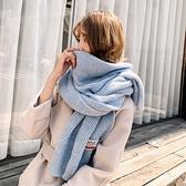 圍巾 圍巾女秋冬季新款韓版百搭可愛學生情侶ins少女士毛線圍脖男冬天 店慶降價