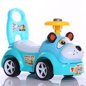 兒童扭扭車四輪可坐人帶音樂   IGO