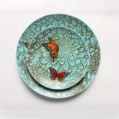 618好康又一發[gogo購]陶瓷盤子創意個性手繪田園風