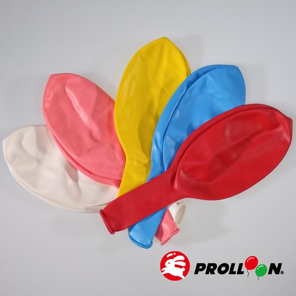 【大倫氣球】24吋(楊桃形)圓形氣球 單顆 FLAT-OVAL SHAPE BALLOONS 婚禮 派對 佈置 台灣製造