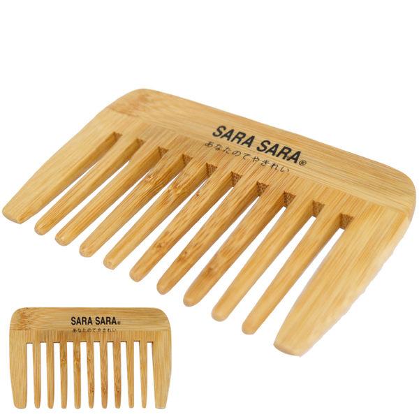 竹藝髮梳-四角竹扁梳
