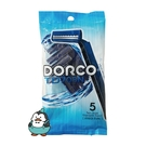 DORCO 多樂可 不鏽鋼刮鬍刀 輕便刀 5支入 韓國