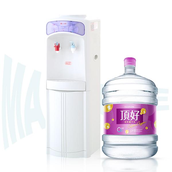 桶裝水及桶裝水式飲水機