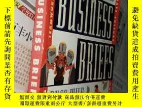 二手書博民逛書店Business罕見Briefs: 165 Guiding Pr