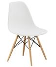 【南洋風休閒傢俱】餐椅系列:迪仕白色餐椅 靠背椅 造型椅 伊姆斯休閒椅 筷子腳椅JF930-13
