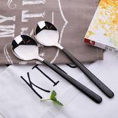 勺子家用不銹鋼勺子創意可愛吃飯韓式長柄湯匙調羹長把304【11,11購物節 7折起】