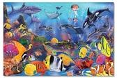 美國 Melissa & Doug 大型地板拼圖 - 熱帶海洋 48 片