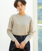 棉/氂牛 毛衣 寬版 羅紋 針織衫 日本品牌【coen】