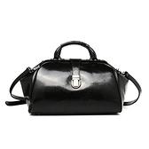 手提包-真皮歐美時尚大方復古女側背包73lp14[巴黎精品]
