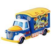 《 TOMICA 》唐老鴨亞洲限定版宣傳車╭★ JOYBUS玩具百貨