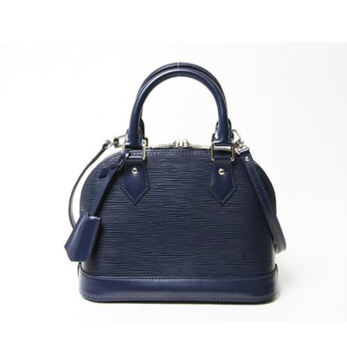 Louis Vuitton LV M40855 ALMA BB EPI 水波紋迷你手提斜背艾瑪包.靛藍 全新 預購【茱麗葉精品】