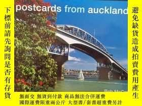 二手書博民逛書店postcards罕見from auckland 攝影畫冊Y369538 Bob mccree 出版201