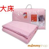 媽咪小站 嬰兒乳膠加厚大床墊-日系水玉粉 (L 69x119x3.5cm)