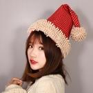 初朵聖誕節裝飾品 成人美女聖誕帽聖誕禮物帽 加厚絨聖誕帽子 優樂美