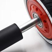 健腹輪男士雙軸承腹肌運動健身器靜音不傷地板健身房專用【販衣小築】