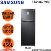 【SAMSUNG三星】456L變頻雙循環雙門冰箱 RT46K6239BS 免運費 送基本安裝