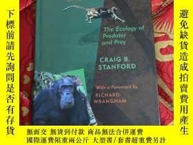 二手書博民逛書店【罕見】Chimpanzee and Red Colobus【精