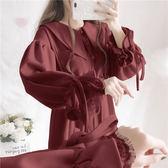連衣裙 秋冬季套裝女新款洋氣軟妹學生娃娃領長款連衣裙【免運】