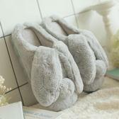 棉拖鞋女厚底冬可愛室內居家居情侶男包跟防滑保暖月子冬天 艾莎嚴選