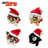 【日本正版】名偵探柯南 趴姿造型 玩偶吊飾 聖誕節裝扮 絨毛玩偶 吊飾 SEGA 087427 088341 088473 088593