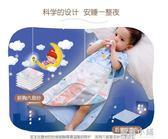 嬰兒睡袋紗布防踢被神器護肚子寶寶睡覺空調房兒童薄款夏季天睡兜 藍嵐