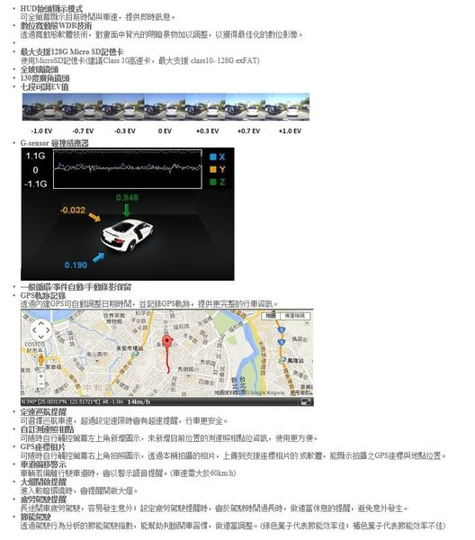 【小樺資訊】 開發票 Mio MiVue 688S SONY感光元件行車記錄器