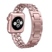 春季上新 apple watch錶帶蘋果iwatch2手錶錶帶不銹鋼時尚金屬手鍊運動3