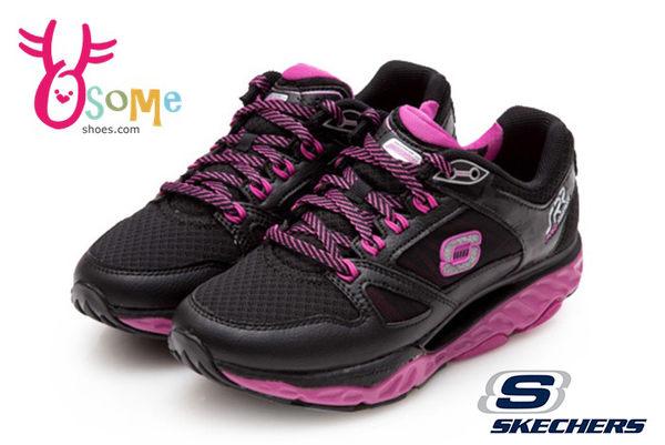 SKECHERS 女運動鞋 超級熱銷款 SRR PRO RESISTANCE 多功能專業慢跑鞋O8279#黑桃◆OSOME奧森童鞋/小朋友