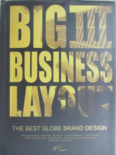 【書寶二手書T1/設計_D7M】Business Layout-The Best Globe Brand Design_2008年