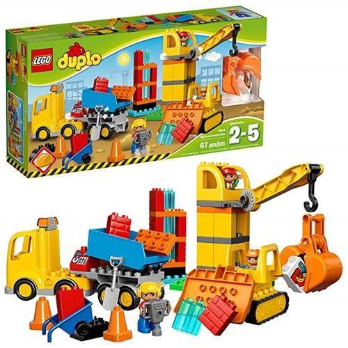 LEGO 樂高 10813 Duplo Town Big Construction Site Best Toy