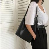 夏天小包包單肩包斜跨韓國女百搭學生簡約休閒手提子母包       伊芙莎