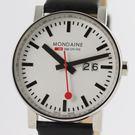 【萬年鐘錶】MONDAINE 瑞士國鐵大錶面腕錶    40mm  XM-62711
