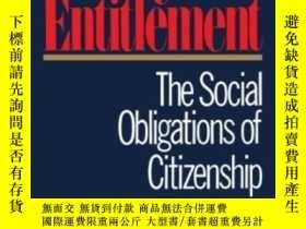 二手書博民逛書店Beyond罕見EntitlementY255562 Lawrence M. Mead Free Press