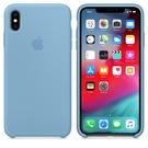 Apple iPhone XS Max 原廠矽膠護套 iPhone XS Max 原廠保護殼【菊藍色】 美國水貨 原廠盒裝