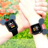 【38mm 】Apple Watch Series 1 2 卡通保護套 保護殼彩色手錶軟套
