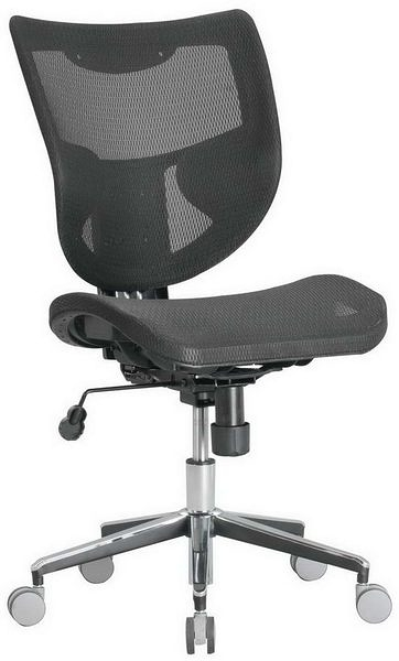 HP361-09 TS-020全網椅/黑網/氣壓+後仰