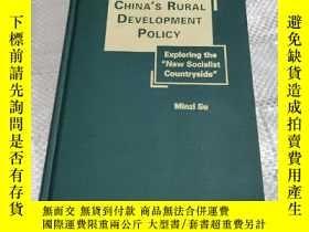 二手書博民逛書店China s罕見Rural Development Polic