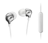 PHILIPS SHE3705WT 銀白-耳機麥克風