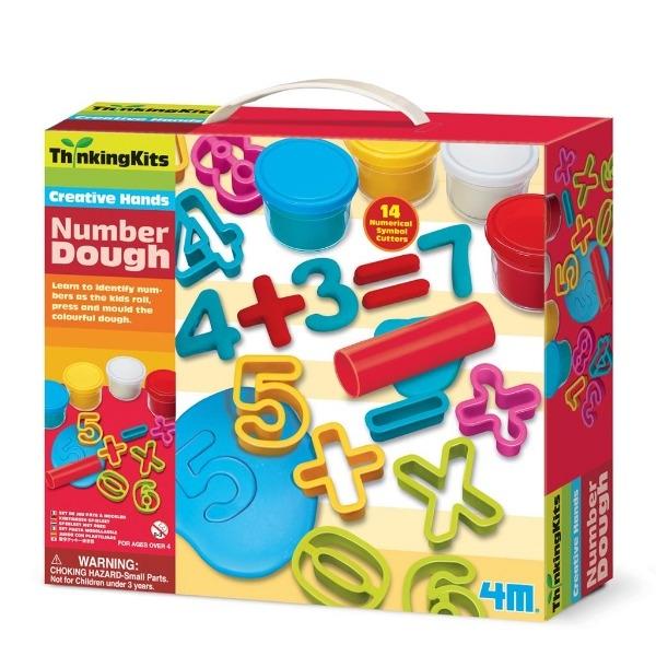 【4M】學齡前啟蒙 數字黏土工廠 Number Dough 00-04715