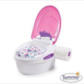 《美國Summer infant》豪華3合1兒童馬桶練習組(粉色)