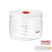 【iwaki】玻璃微波密封罐 550ml