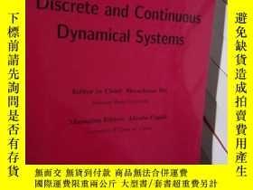二手書博民逛書店Discrete罕見and Continuous Dynamic