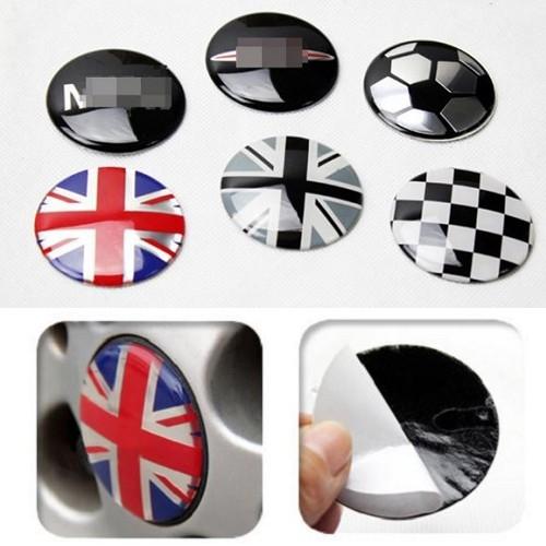 英國國旗貼 52mm 鋁圈輪胎蓋 中心蓋 輪圈蓋 輪胎貼 沂軒精品 A0106