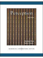 二手書博民逛書店 《Perception》 R2Y ISBN:0071112723│RandolphBlake