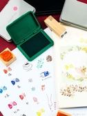 印臺印台日本創意可愛文具shachihata旗牌速干新手印泥印臺印章色沫沫 麥吉良品