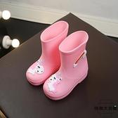 兒童雨鞋雨衣男童女童水鞋兩用防滑卡通雨靴【時尚大衣櫥】